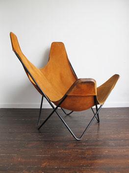 U0027Butterflyu0027 Chair By Jorge Ferrari Hardoy For Knoll International.