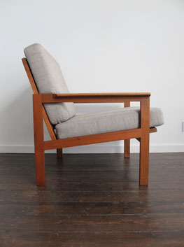 Teak Quot Capella Armchair By Illum Wikkelso For Niels