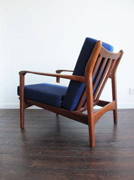 teak armchair by toothill uk