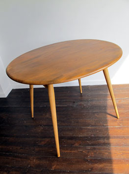 Beech Elm Dining Table By Ercol