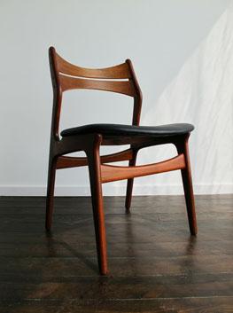 Teak Dining Chairs By Erik Buch For Chr Christiansen