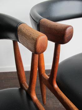 Teak Side/Dining Chairs by BRDR Andersen, Denmark.