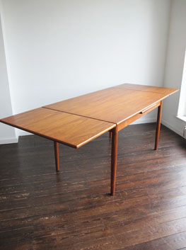 pdf diy danish extendable dining table download diy built