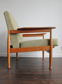 Elm Reclining Armchair By Guy Rogers Uk