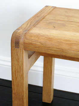 Oak Radius Bench By Simon Pengelly For Habitat