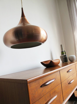 Danish Orient Pendant Light By Jo Hammerborg