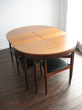 Hans Olsen Dining Chairs With 3 Legs Chair Pads Amp Cushions
