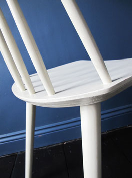 Vintage Danish Stickback Chair