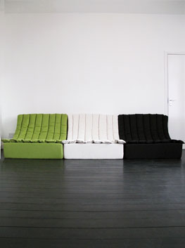 Vintage Scoop Modular Seating By Martin Sylvester For